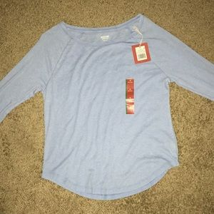 New Blue Long Sleeve Sweater